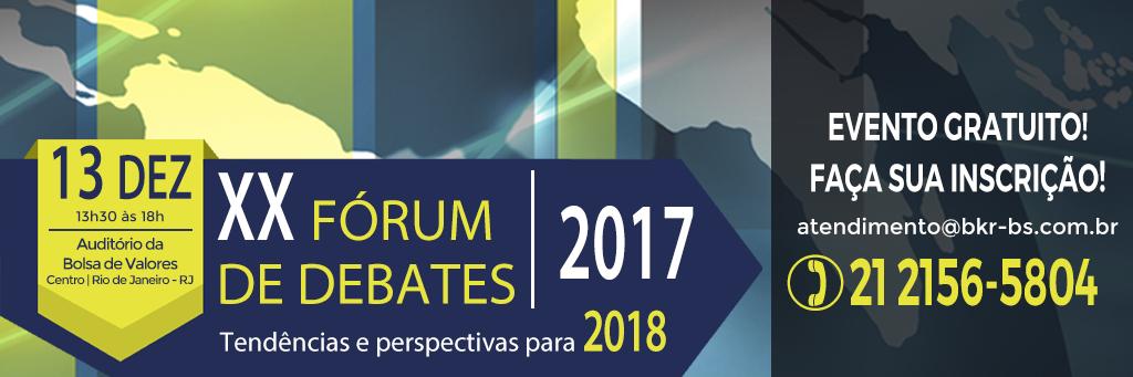 Fórum de Debates 2017
